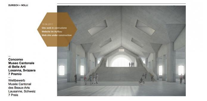 Durisch nolli architetti for Sito web di costruzione di case